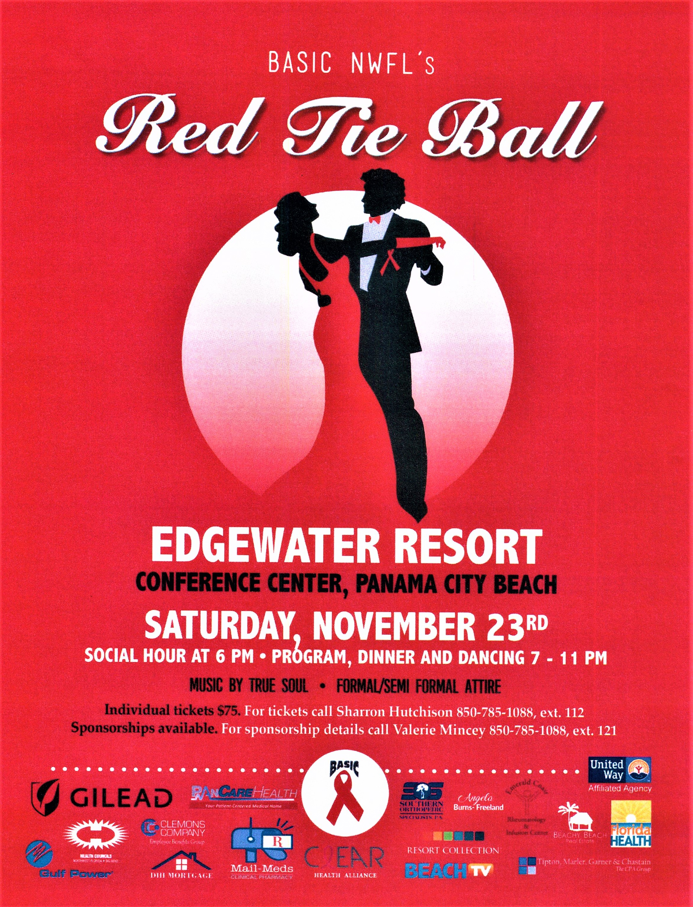 2019 BASIC NWFL Red Tie Ball
